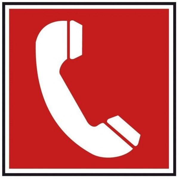 Autocollant téléphone