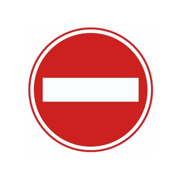 Autocollant interdit