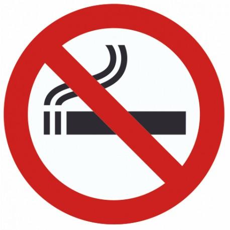 Autocollant interdit de fumer pour copropriete