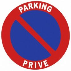 Autocollant Parking Privé