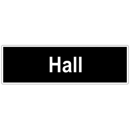 Autocollant Hall