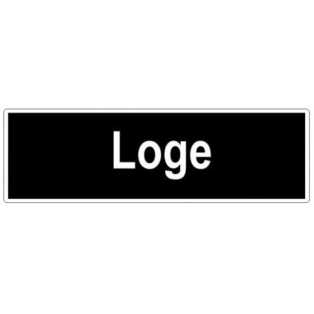 Autocollant Loge