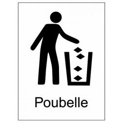 Autocollant poubelle