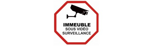 Sticker vidéo surveillance